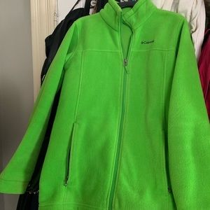 Lime Green *NEW* Columbia Sweater